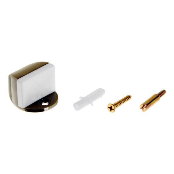 Фиксатор двери продается в комплекте с крепежом