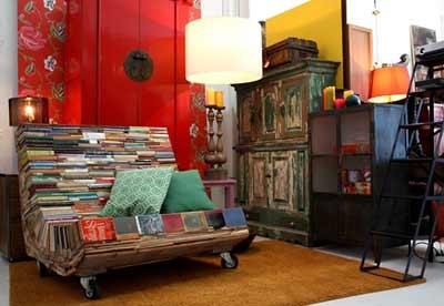 Кресло из книг своими руками