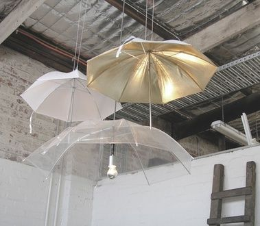 Абажуры из зонтиков