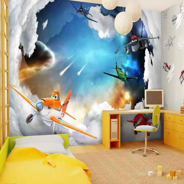Применение фотообоев в детской комнате