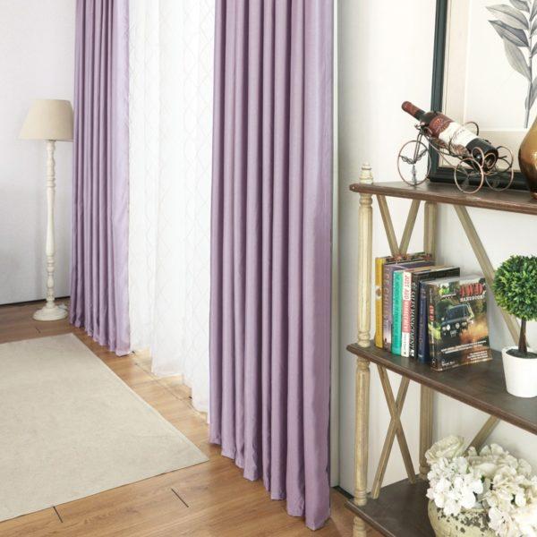 Лучшие шторы для спальни - это мягкие с драпировкой