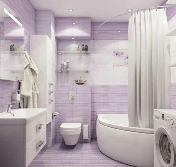 Потрясающий дизайн ванной комнаты