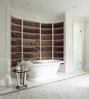 Ещё один пример оформления ванной комнаты