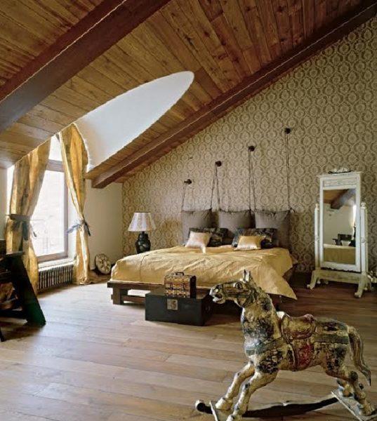Спальня Ирины и Владимира