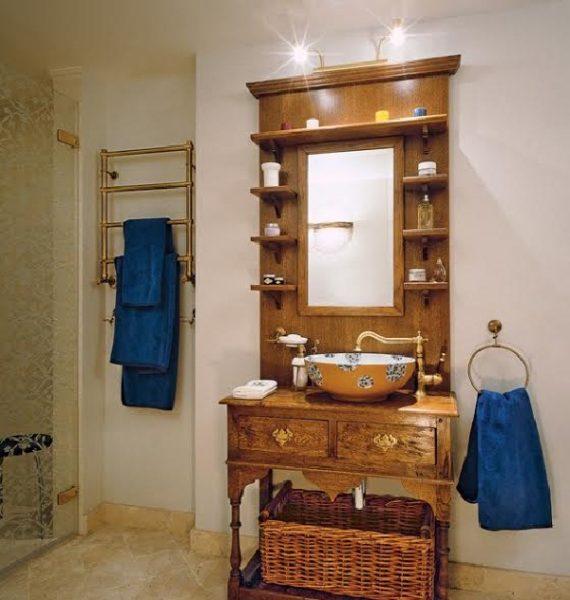 Ванная комната Ирины и её супруга