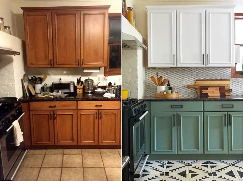 Преображение фасада кухни в лучшую сторону