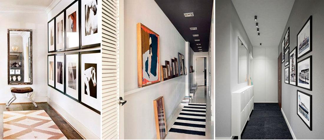 Дизайн узких коридоров