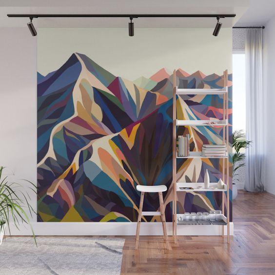 Красивое оформление стен в квартире