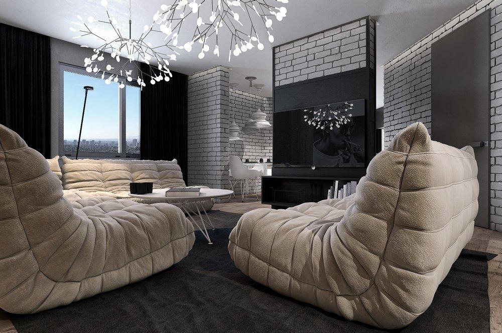 Люстра - элемент декора, способный полностью изменить интерьер