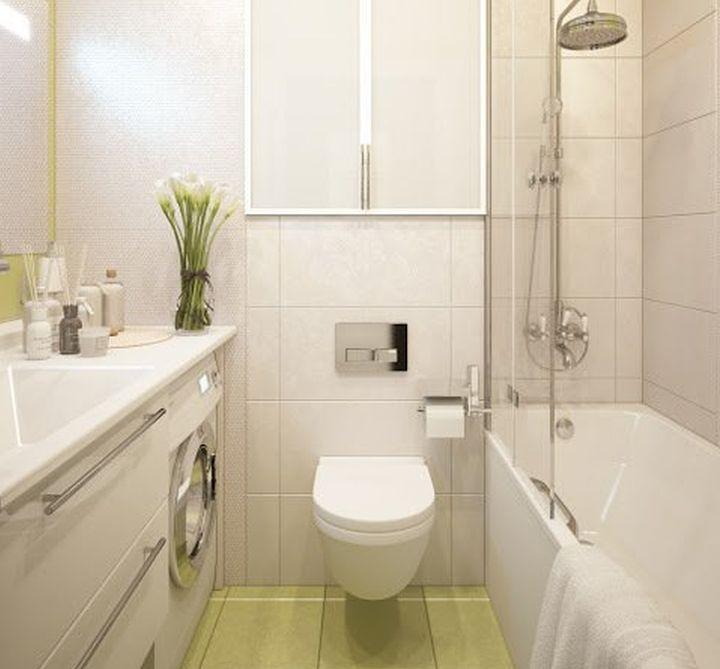 Объединенный туалет и ванная комната