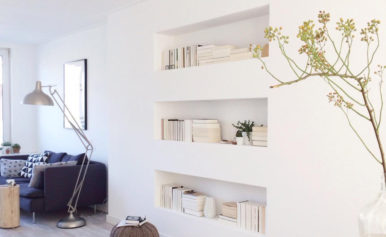 Ниша в стене в интерьере квартиры