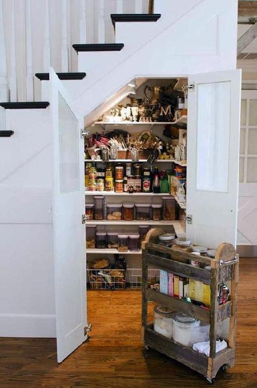 Система хранения, представленная в виде кладовки