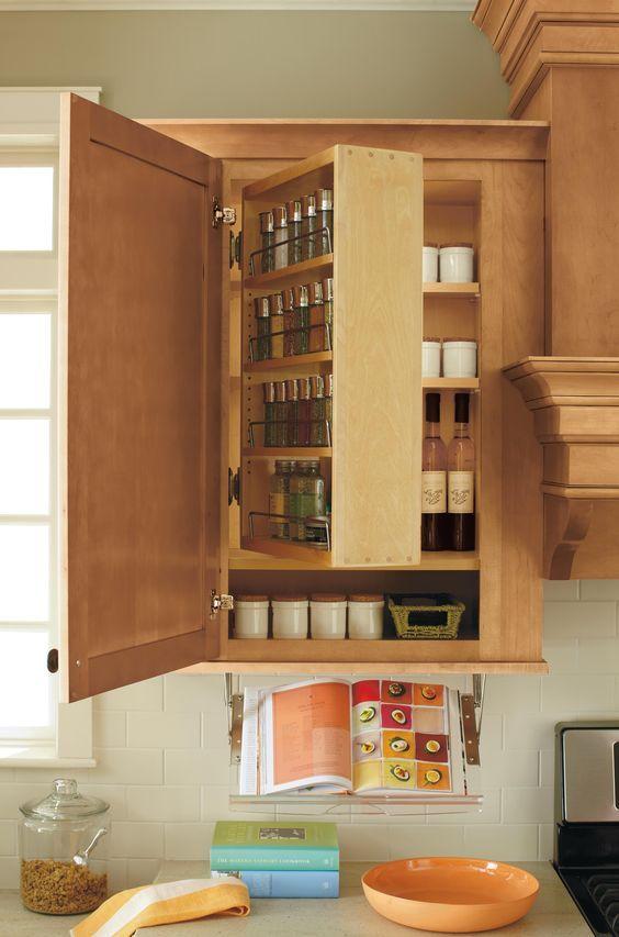 Кухонный шкаф с секретом