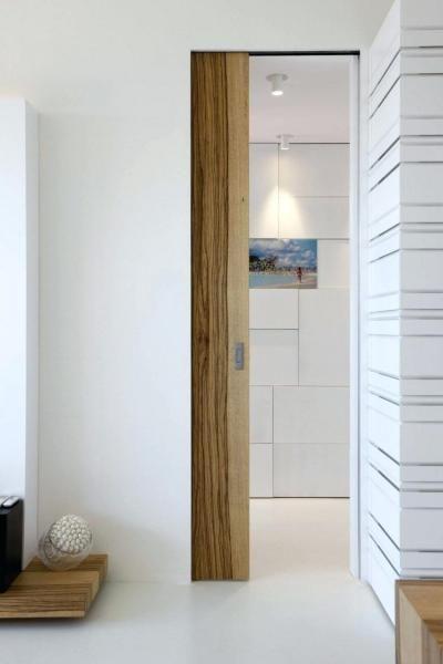 Дверь-пенал в интерьере