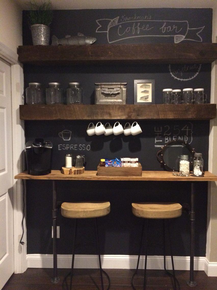 Небольшой уголок счастья для кофемана
