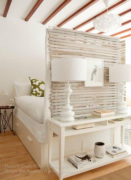Деревянная перегородка - это не только функционально, но и эстетично