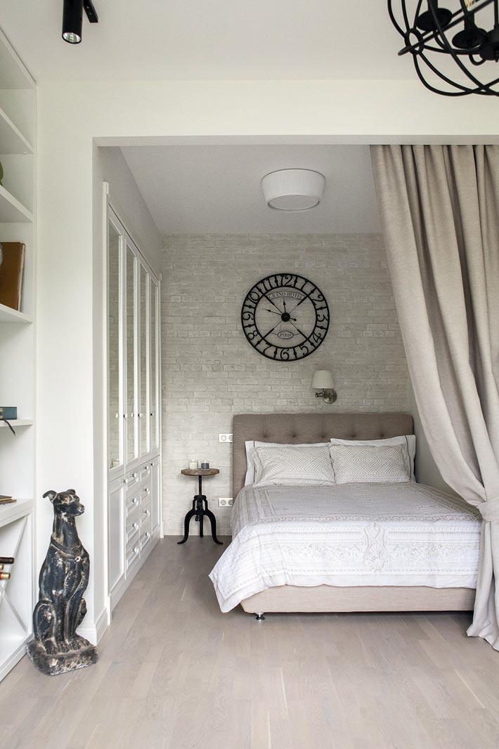 Использование ниши в качестве спальни