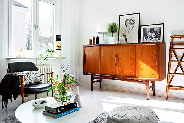 Советский комод в интерьере современной квартиры