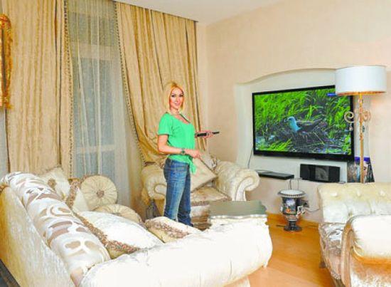 В квартире теледивы нет ничего отечественного производства