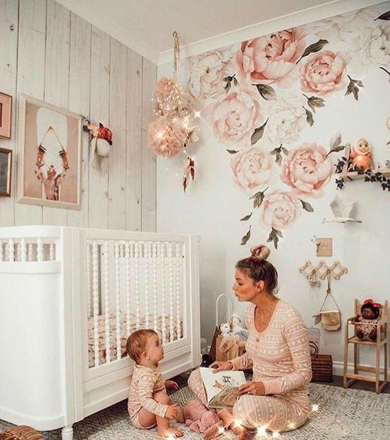 Красивый дизайн интерьера детской комнаты для карапузов