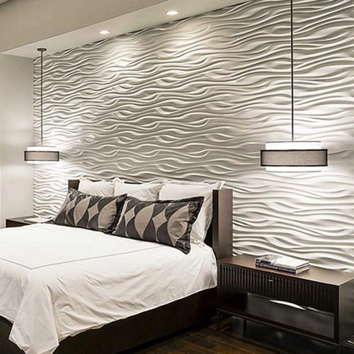 Декоративные панели с волнообразным орнаментом