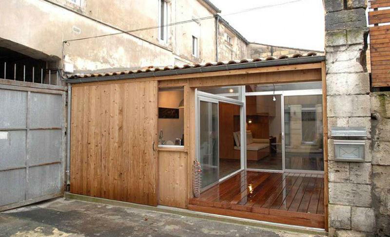 Квартира-гараж площадью 41 кв. м в центре Бордо