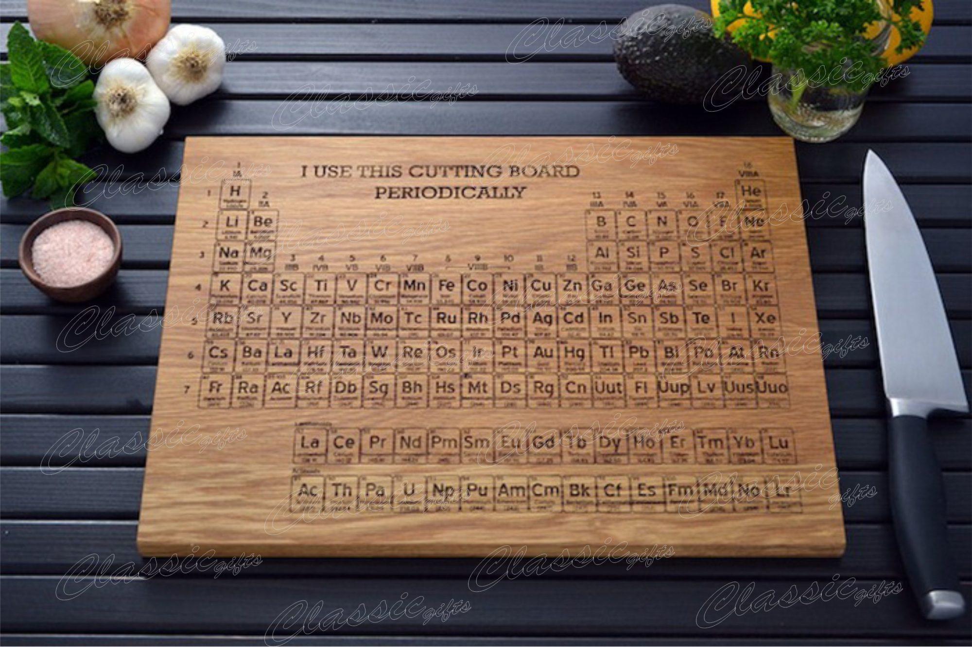 Разделочная доска для химиков