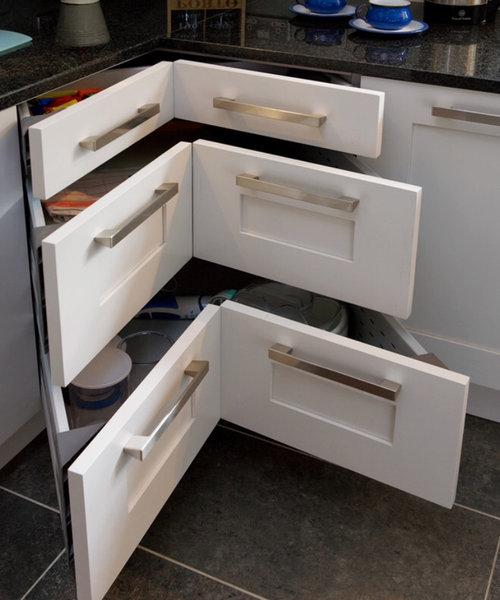 Инновационная система хранения на кухне