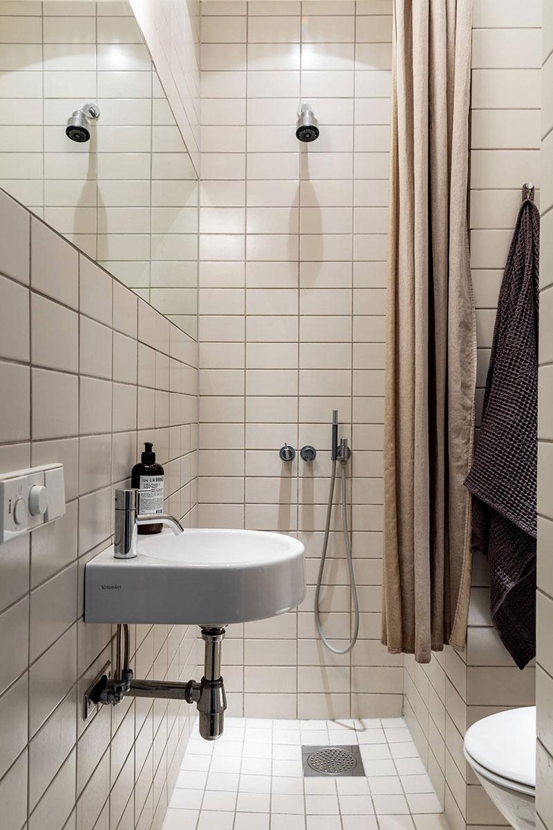 Белоснежная ванная комната