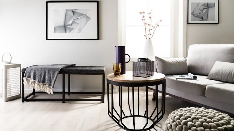 Трендовый дизайн гостиной комнаты