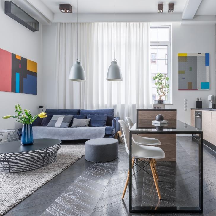 Округлые формы в интерьере квартиры
