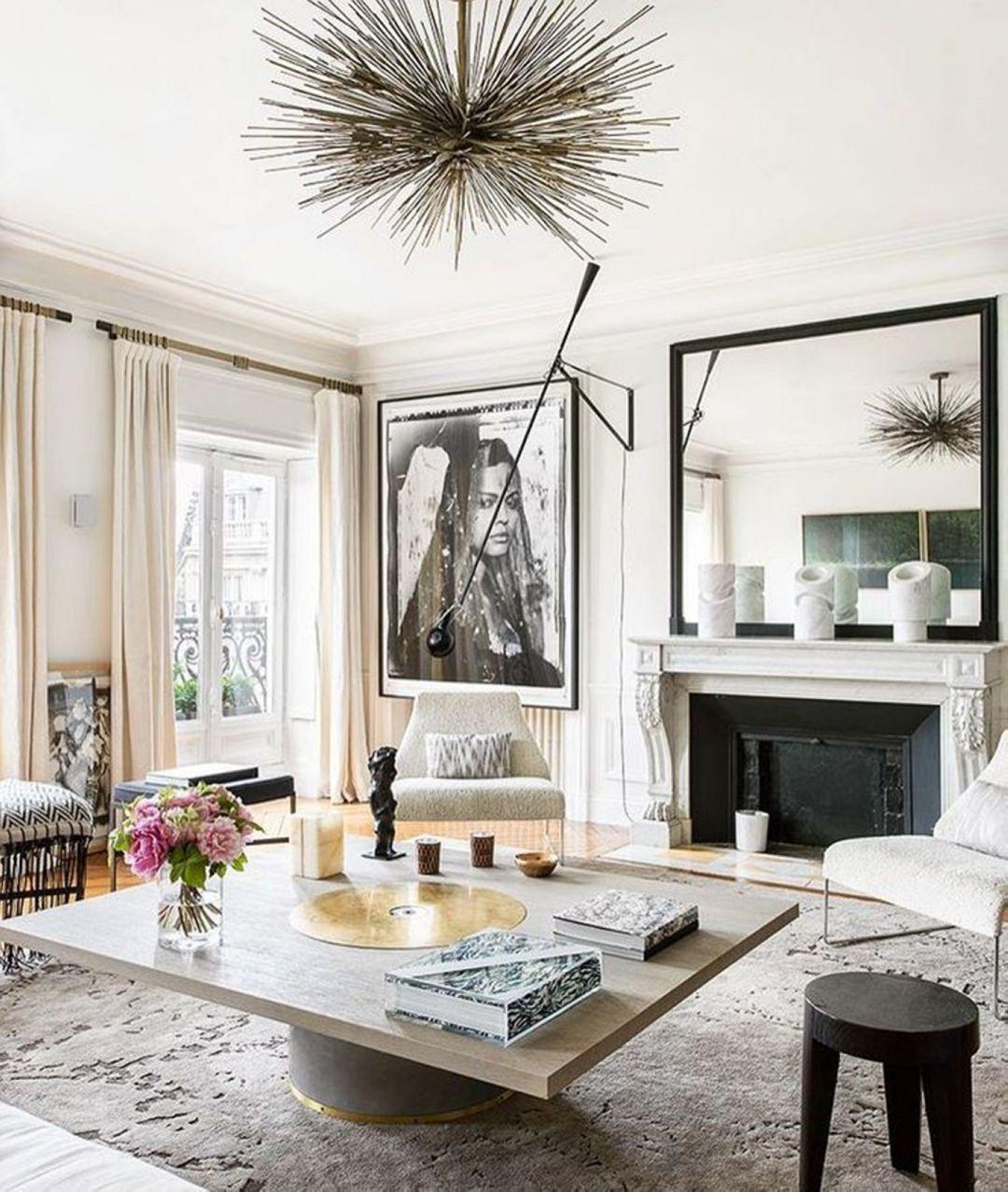 Прекрасный интерьер французской квартиры