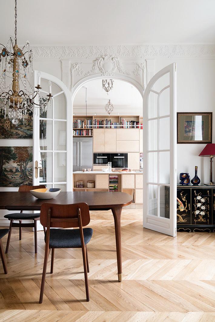 Французский шарм в интерьере квартиры