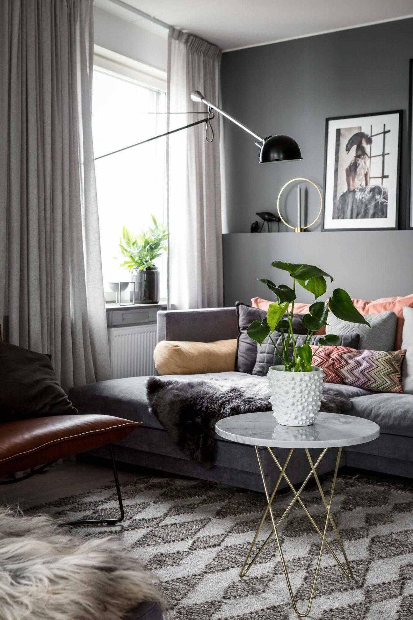 Текстиль играет огромную роль в интерьере квартиры