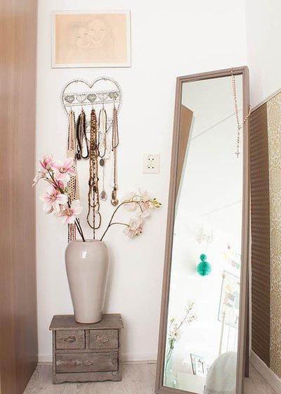 Напольное зеркало - отличный элемент декора