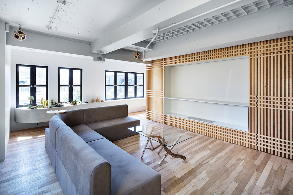 Интерьер в восточном стиле от Daisuke motogi Design And Architecture