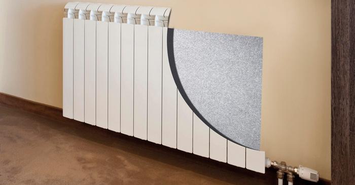 Теплоотражающий экран для батарей