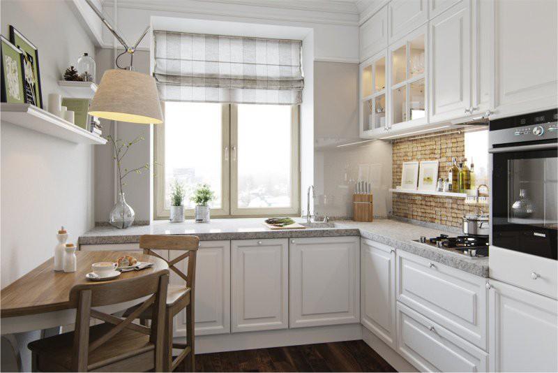 Рациональное использование подоконника на кухне
