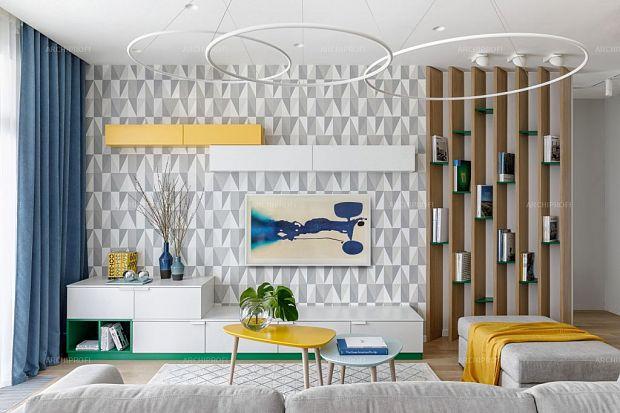 Потрясающий дизайн гостиной комнаты