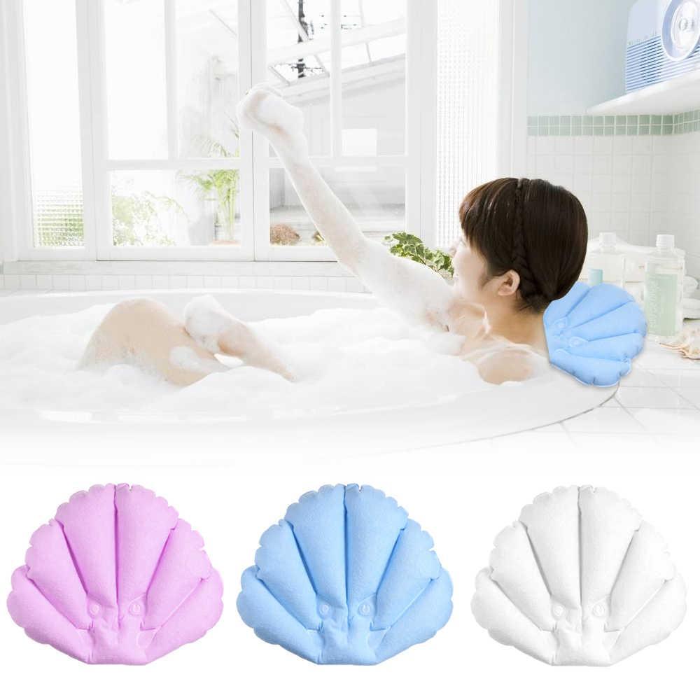 Надувная подушка для тех, кто любит долго принимать ванну