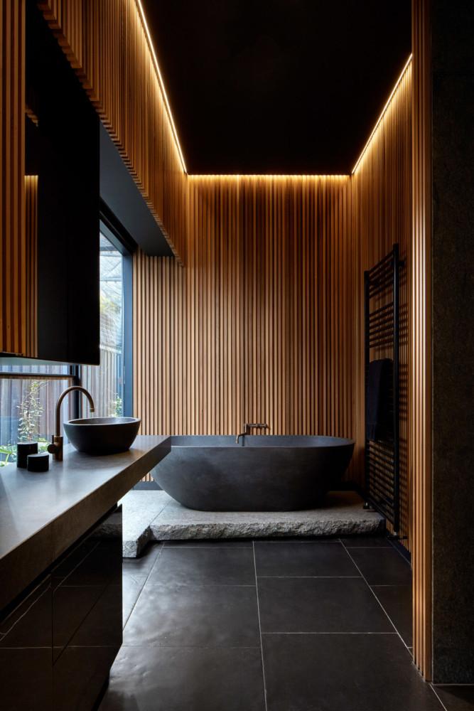 Потрясающий интерьер ванной