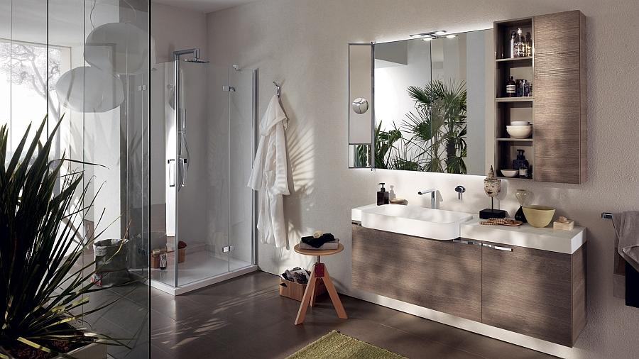 «Легкая» мебель для ванной