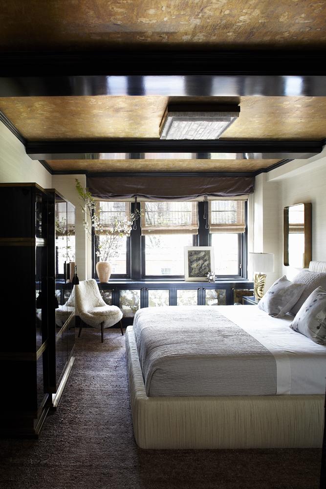 Изысканный интерьер спальни Кэмерон Диас