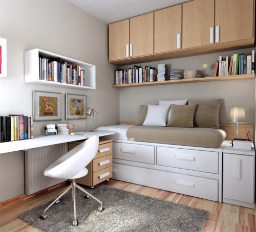 Среднестатистическая спальня для подростка
