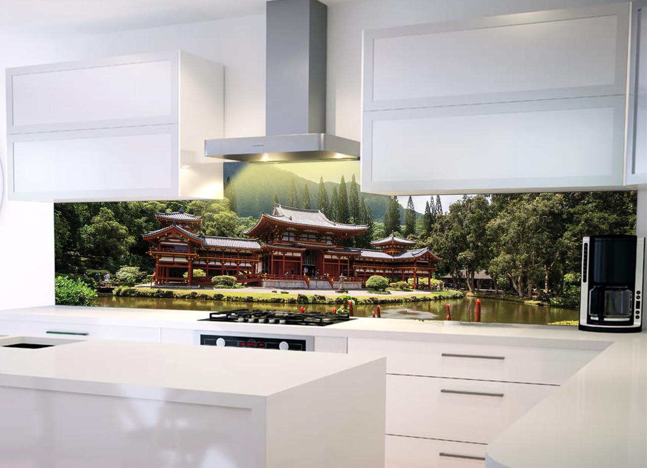 Виниловая наклейка в интерьере кухни