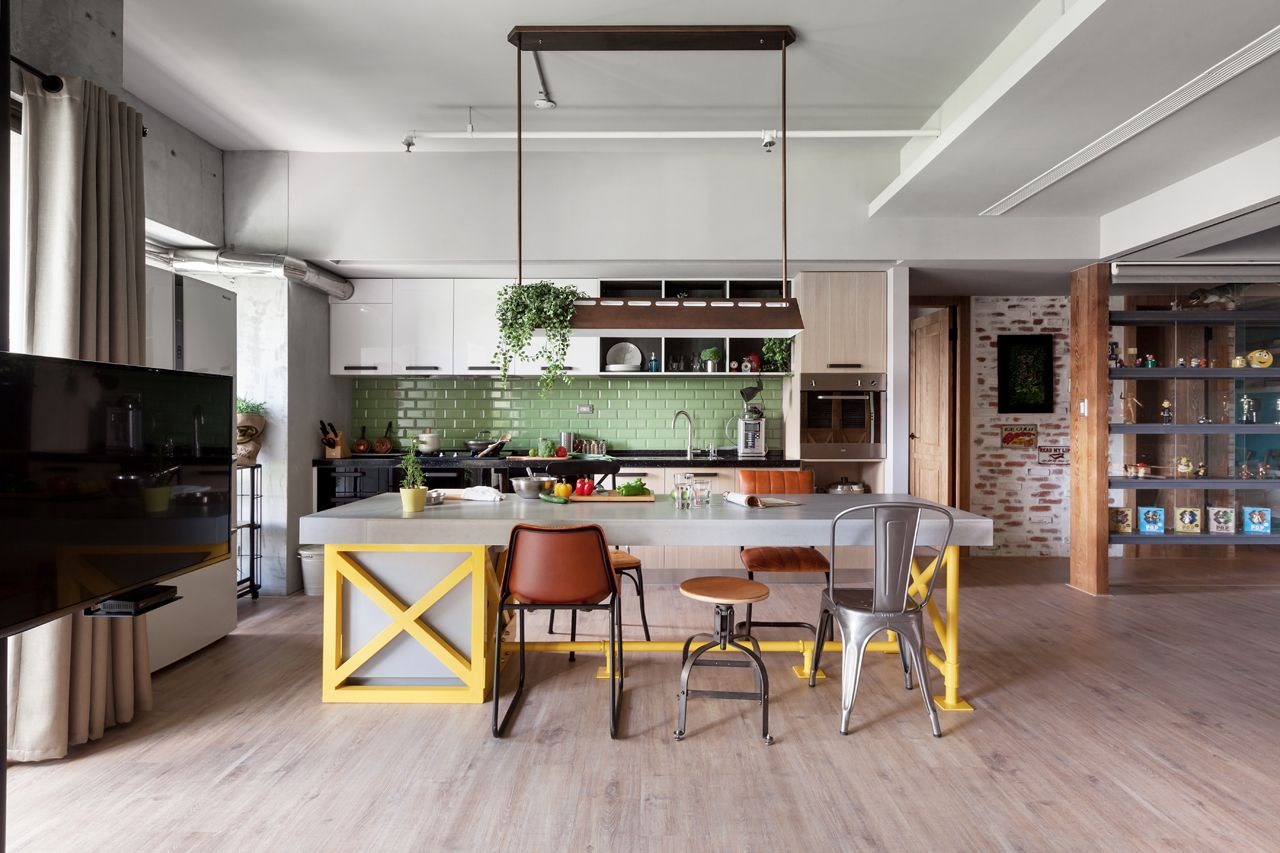 Прекрасный интерьер кухни