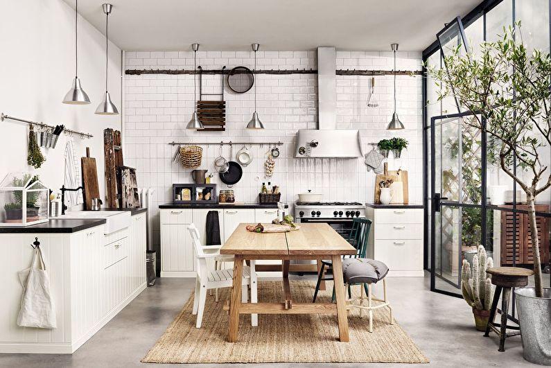 Потрясающий дизайн кухни при помощи ИКЕА