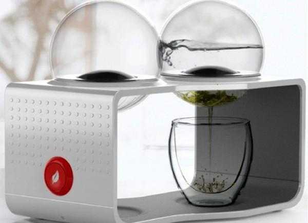 Необычный прибор - подогреватель для чая