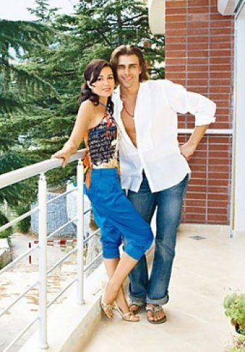 Анастасия и Петр на балконе своей квартиры