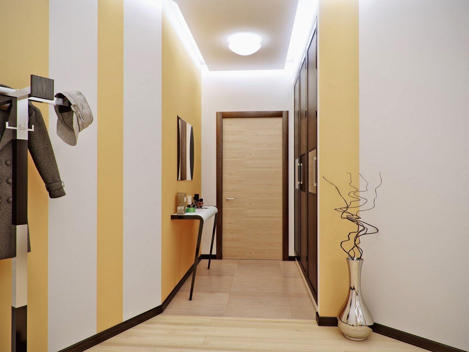 Узкий коридор - это минимальное количество декора